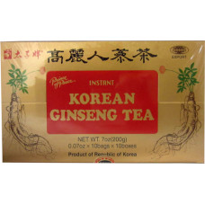 15.00100 - KOREAN GINSENG TEA 10x7oz