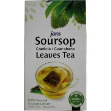 15.52600 - JANS SOURSOP LEAVES 100x1.12oz