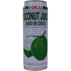 20.30001 - FOCO COCONUT JUICE 24x17.6oz