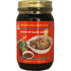 40.00200 - GROUND CHILI GARLIC OIL 24x8oz