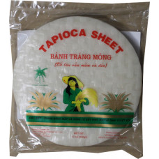 50.28001 - CT TAPIOCA SHEET 22cm 36x12oz